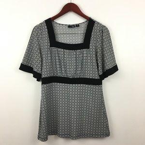 2/$20 East 5th Short Sleeve Blouse